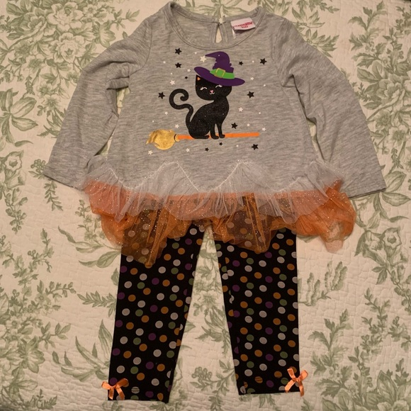 3T Halloween witch cat outfit Nannette kids